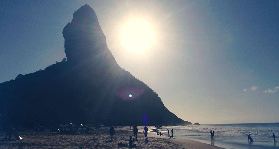 Pôrdosol na Praia da Conceição