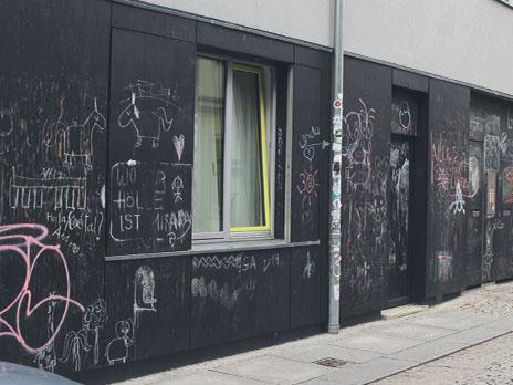 A Lousa, criada para incentivar a arte e evitar os grafites ilegais.
