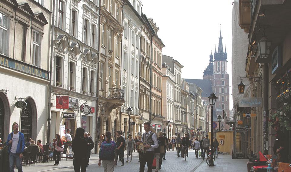 Rua Florianska, sempre bem movimentada