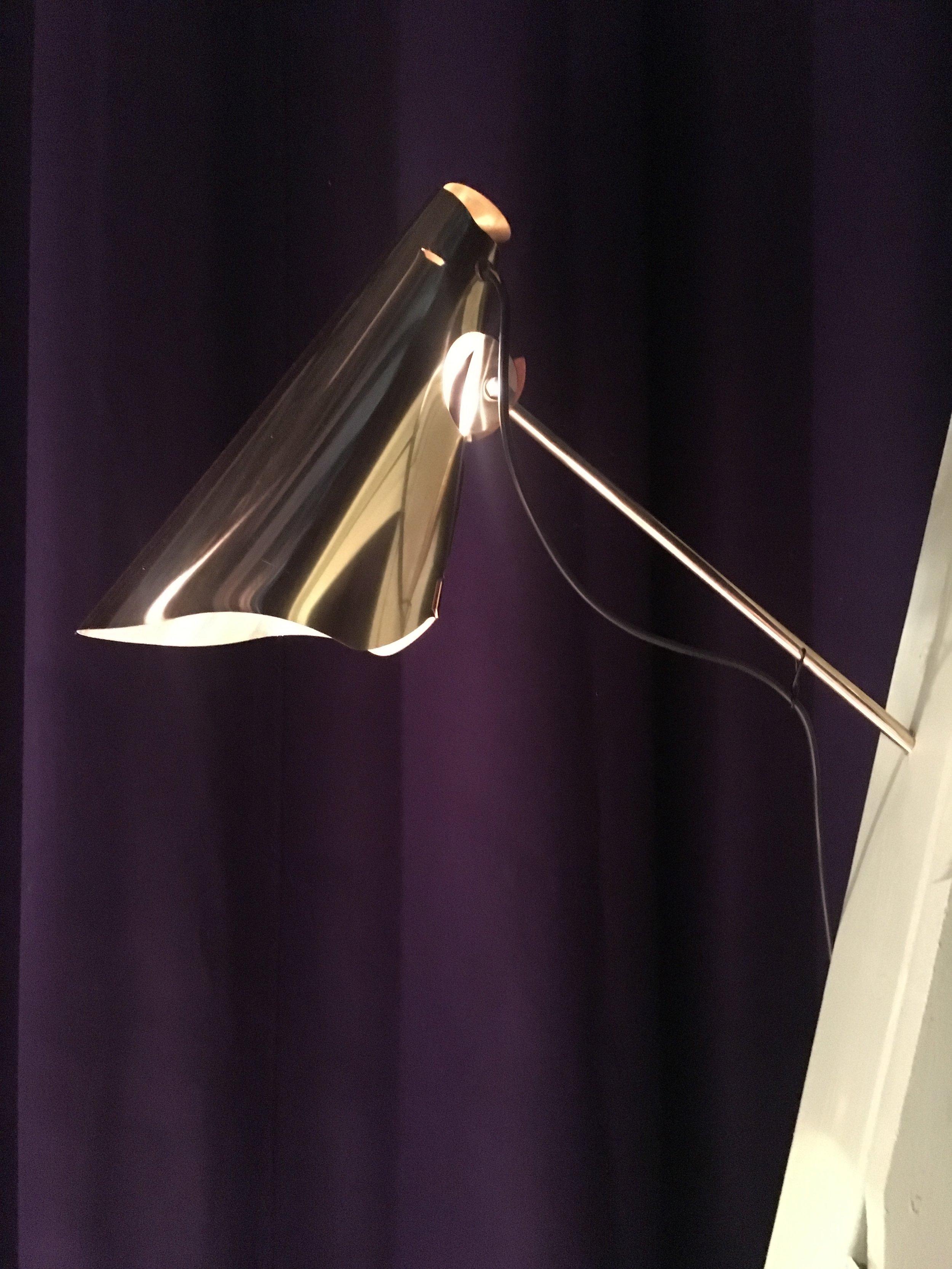 Wall Lamp - Brass, Ipé WoodCurrent ProductionLarge Screen: 50 x 35 x 25 cmX-Large Screen: 65 x 40 x 35 cmPrice upon request