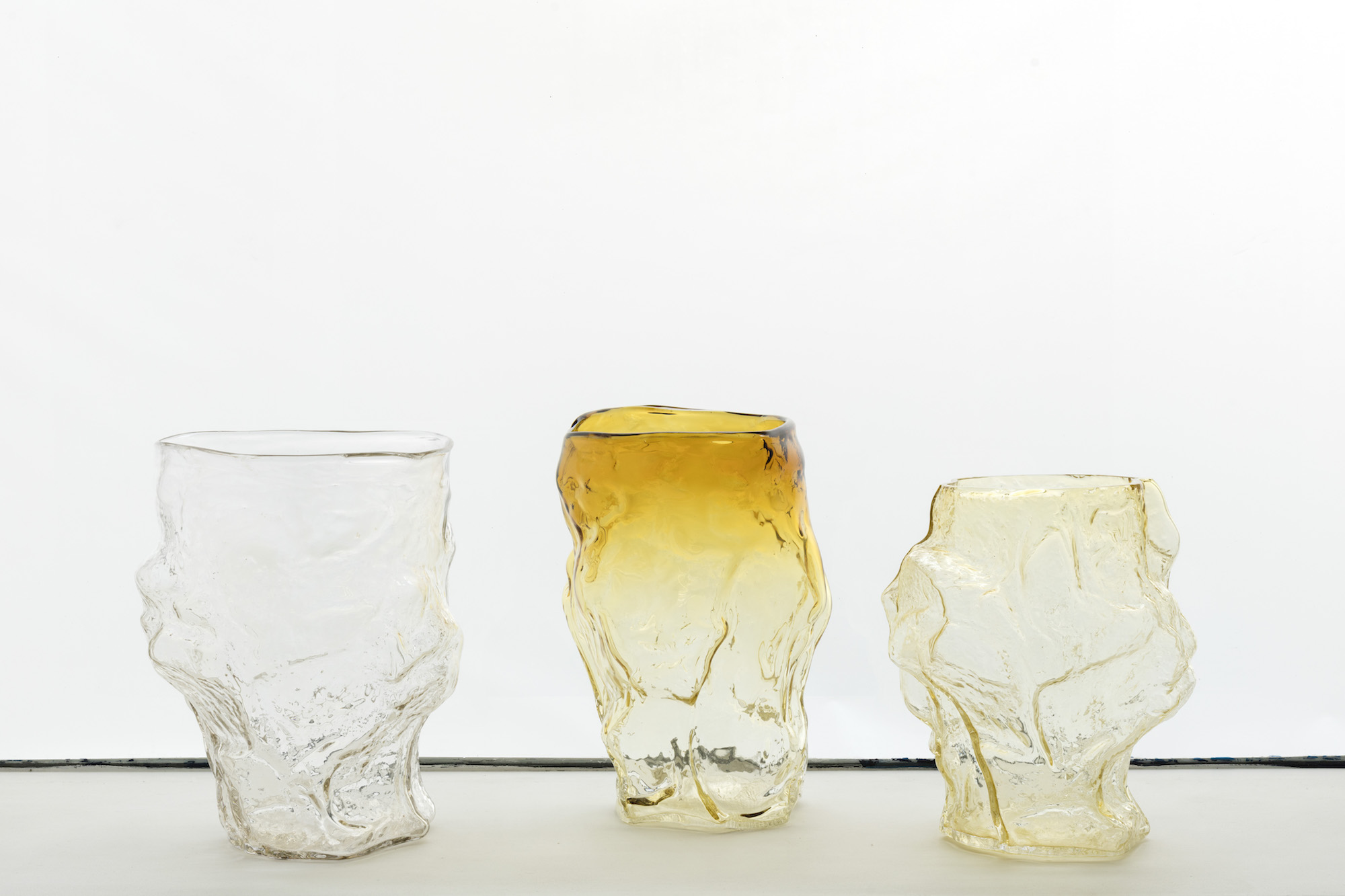 Glass Vase - GlassEach Unique, ≃ 38 x 33 x 33 cm2017Edition of 12Price upon request