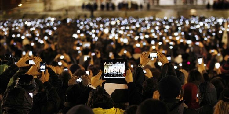 utside the Vatican in 2013