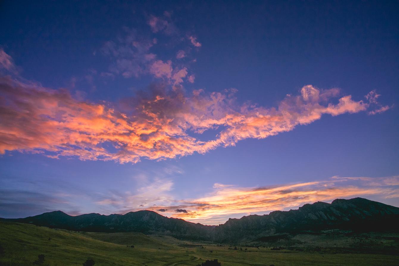 Mountain-Denver-Colorado-Sunset