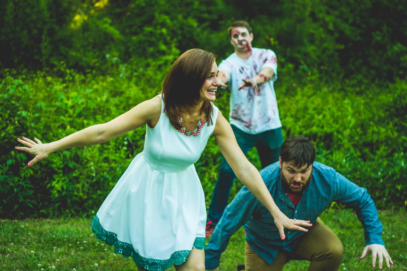 Zombie-engagement-photos