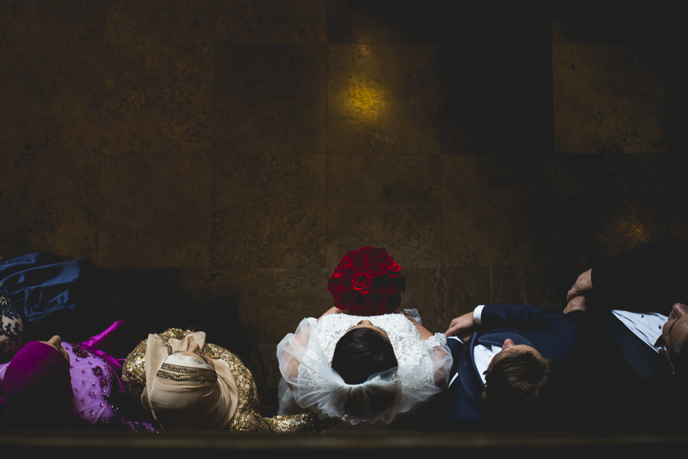 I can't pinpoint exactly why, but this is one of my favorite wedding photos I captured in 2016 for Daniel K. Photography. I think it might be the way those bright red roses standout.
