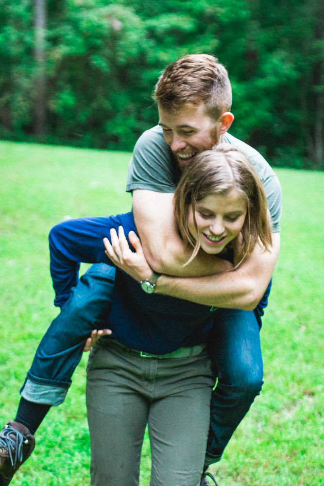 Girl-Giving-Boy-Piggyback-Ride-during-raleigh-engagement-session