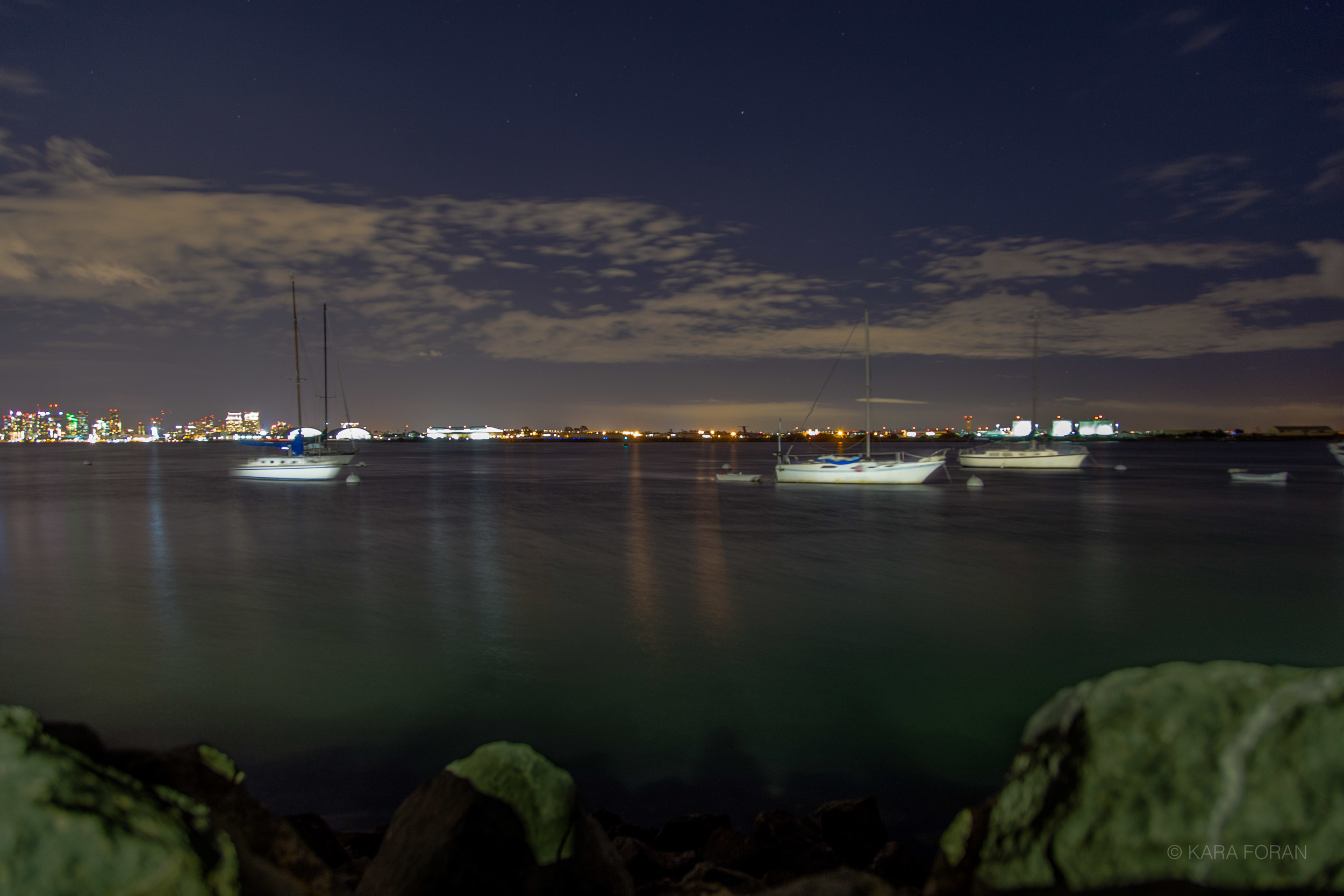 Boats in San Diego