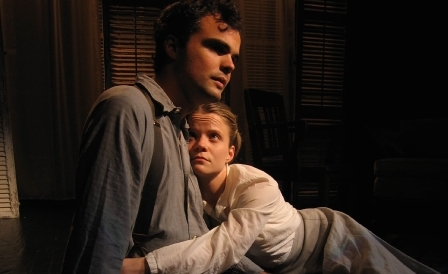 Stephen Plunkett and Amelia McClain in The Horton Foote Project presented by Slant Theatre Project