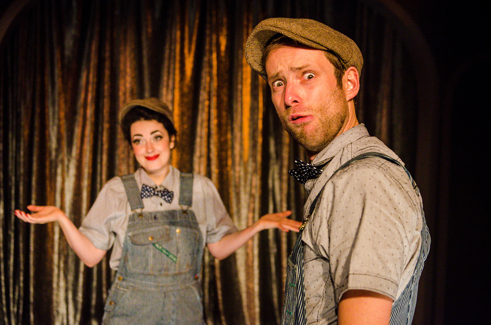 Richard Saudek and Tansy in Eager to Lose at Ars Nova