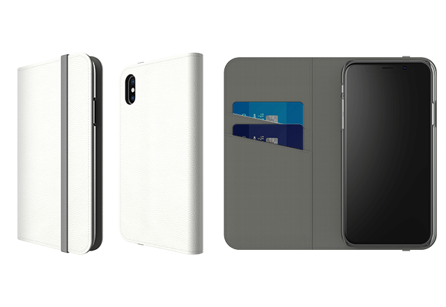 Folio Case - The Mobile Hold All.Features: Stand feature for watching media / Customisable faux leather with flat grey elastic fastening / Clear, open ports for connectivity / Stitched pockets to store cards & cashGuideline Retail Price $39.99