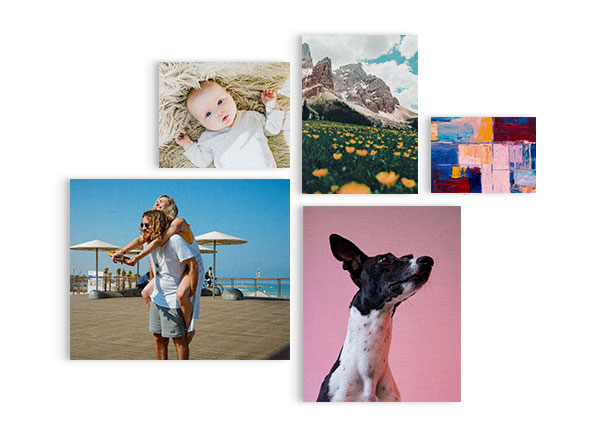 Rectangular Canvas Wall Art - Customizable Canvas Board. Unique Cork Floating Mount System. Available in 5 Sizes: 220x160mm, 270x220mm, 330x240mm, 410x330mm, 460x380mm.Guideline Retail Price from $24.00