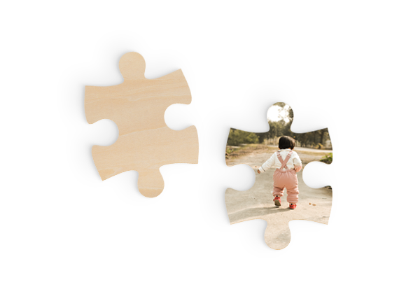Jigsaw Piece - For when you find your missing piece. Cut from 6mm sustainable Birch plywood.Guideline Retail Price $8.95