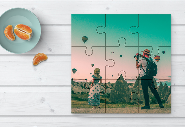 9 Piece Jigsaw - Happiness is when all the pieces come together. Cut from 6mm sustainable Birch plywood.Guideline Retail Price $49.95