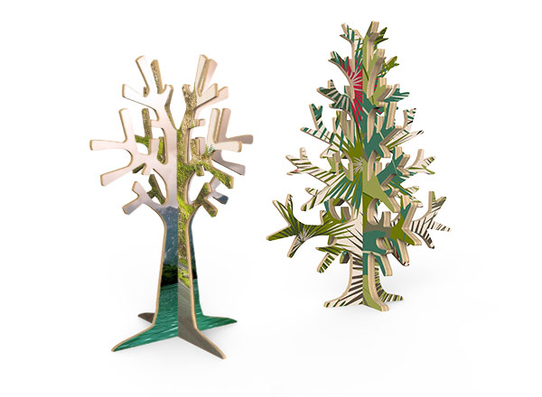Wooden Trees - Bring nature into your home! Cut from 6mm sustainable Birch plywood. Available in 2 Styles: Jewelry Tree and Standing Tree.Guideline Retail Price from $8.95