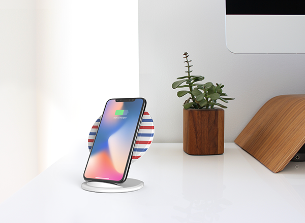 Induction Charger - Wireless Charging also known as Inductive charging, is a convenient and cable-free way to charge your Smartphone device. Works with all wireless charging compatible Smartphones.Guideline Retail Price $55.00