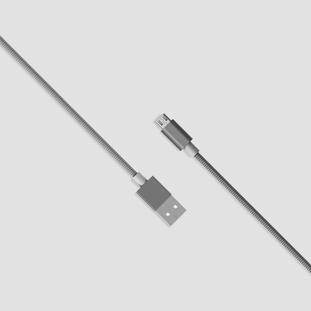 Micro USB Cable (1 Meter) - The Charge & Sync Cable gives you the freedom to use your device while charging. The lengthy 1m/3.3ft tangle-free braided cable delivers a high speed charge and sync. For Android Devices.Guideline Retail Price $12.00