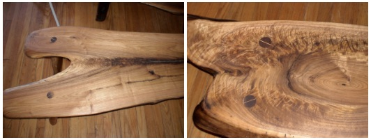 Wood benches handmade John Walker Sawmill Hopewell Junction NY