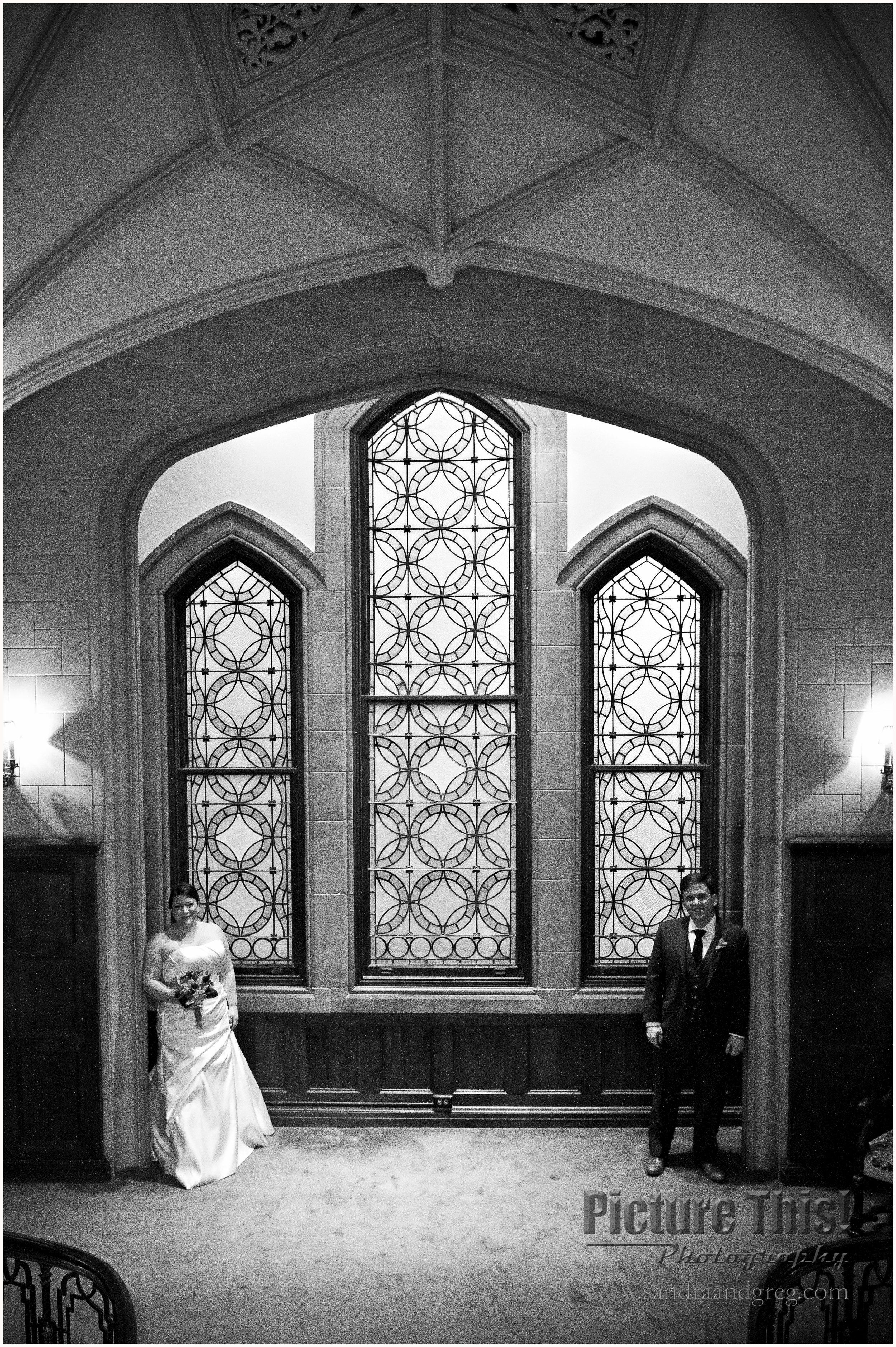 Catie and Matt at Callanwolde Fine Arts Center