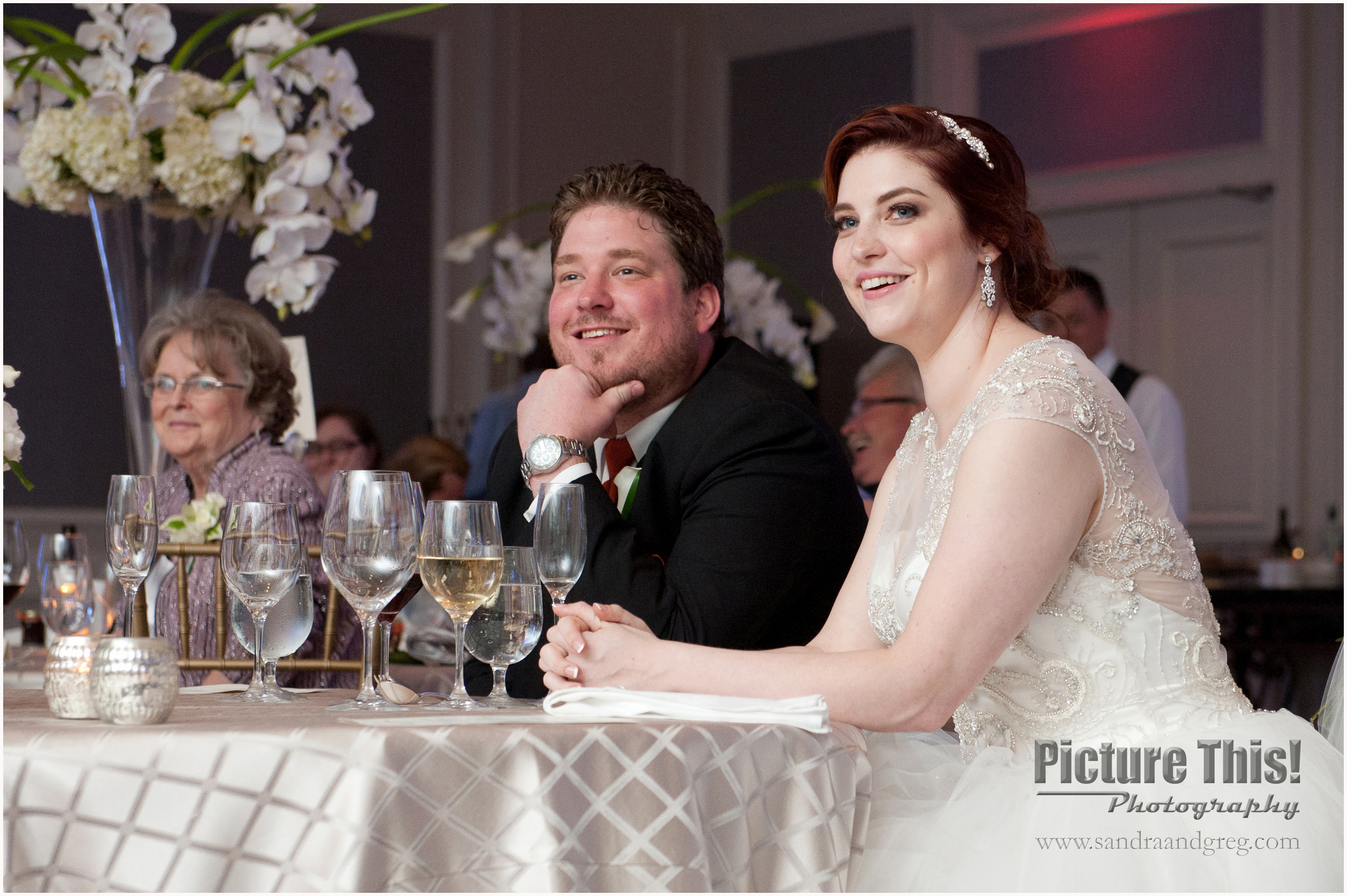 Lauren and Ben at the Ritz-Carlton Buckhead