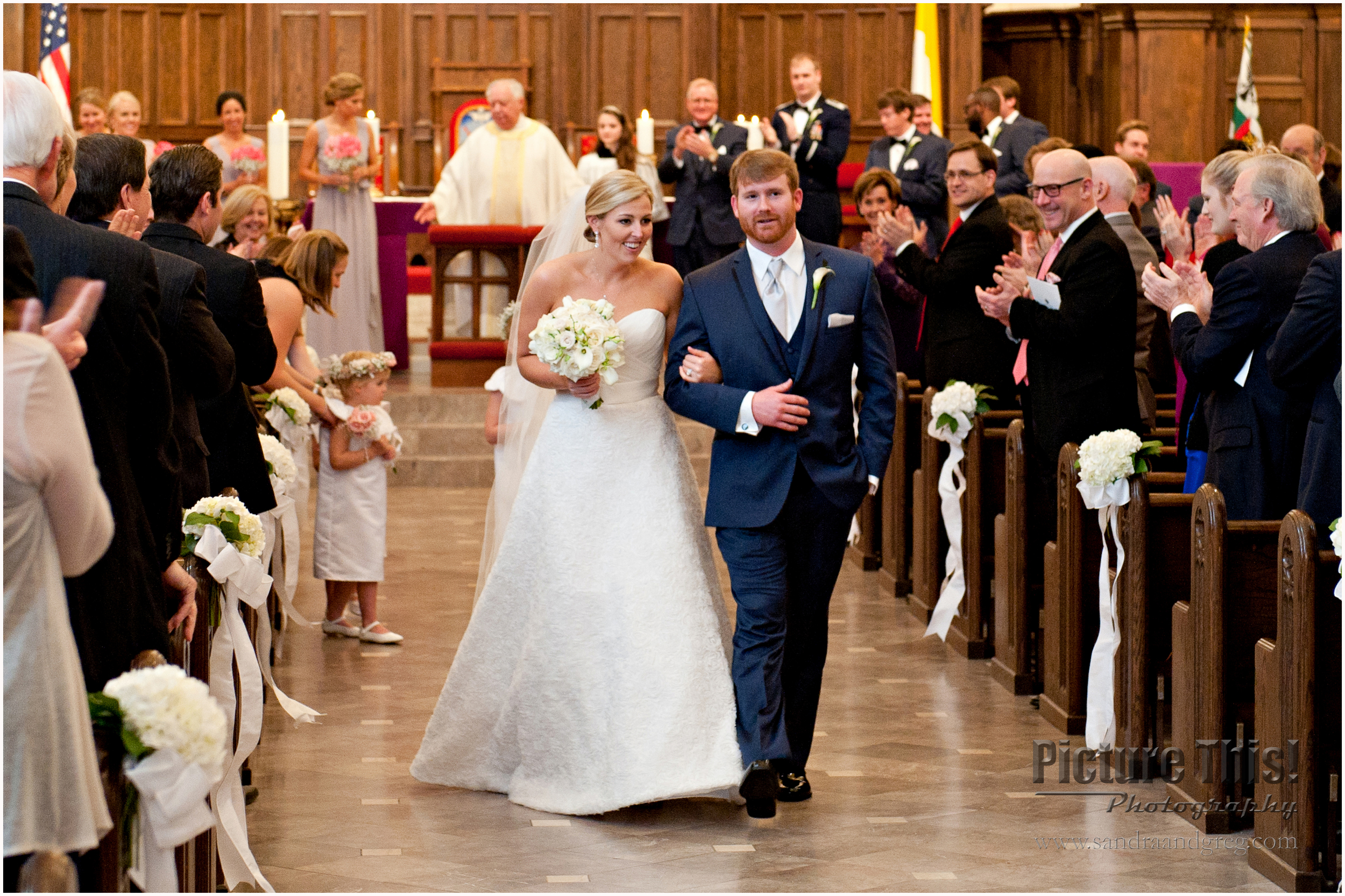 Kate and Jim at Holy Spirit Catholic Church