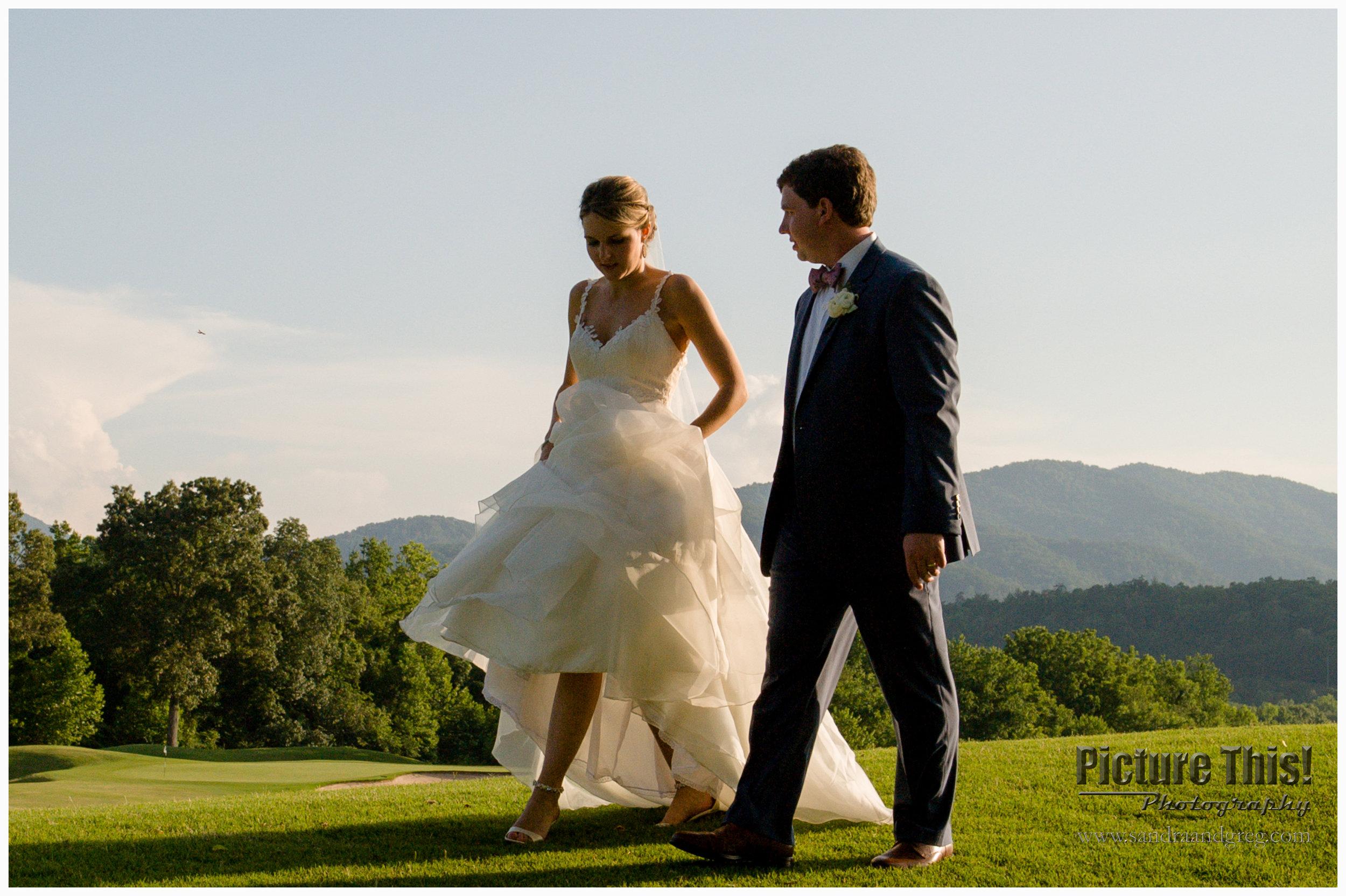 Christina & Austin at Brasstown Valley Resort