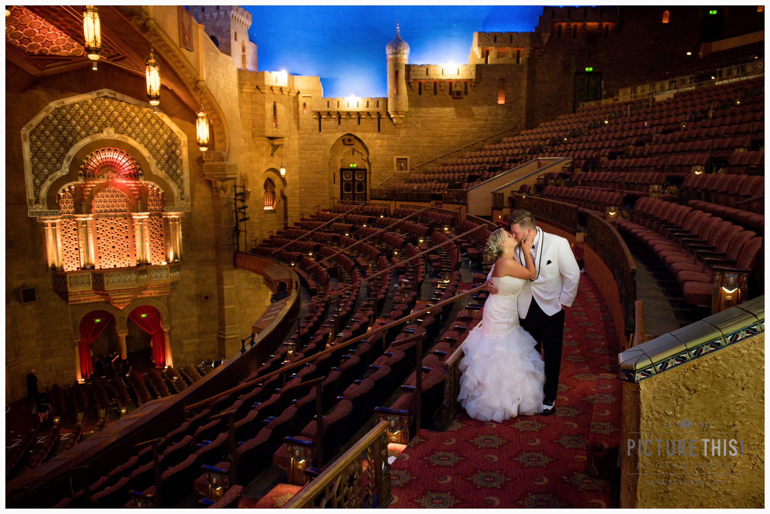 Leslie & Michael at the Fox Theatre