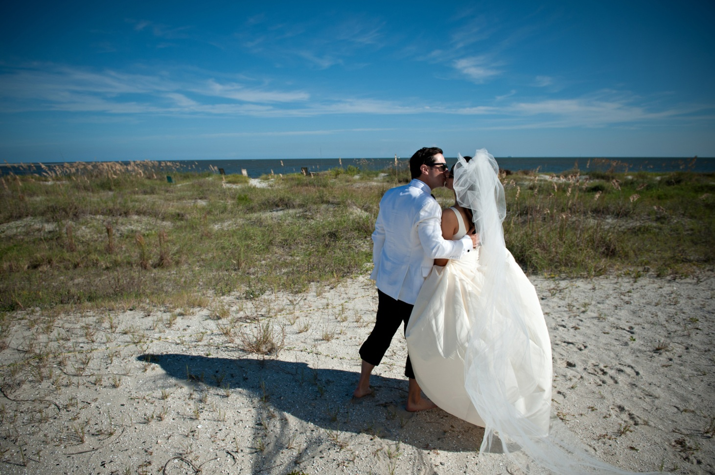 Christina & Andrew in Sea Island, GA