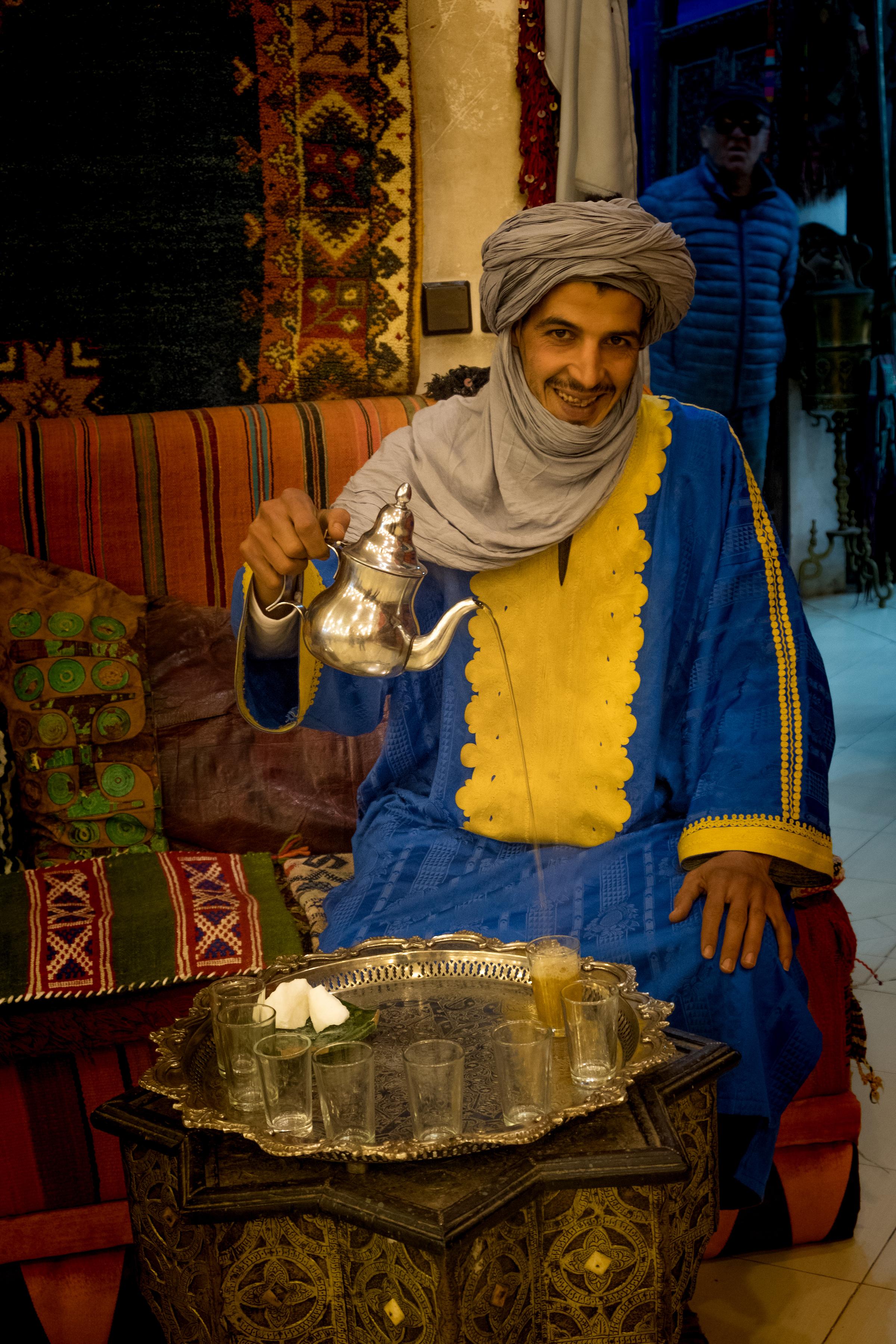 Tea Session in Du Sud