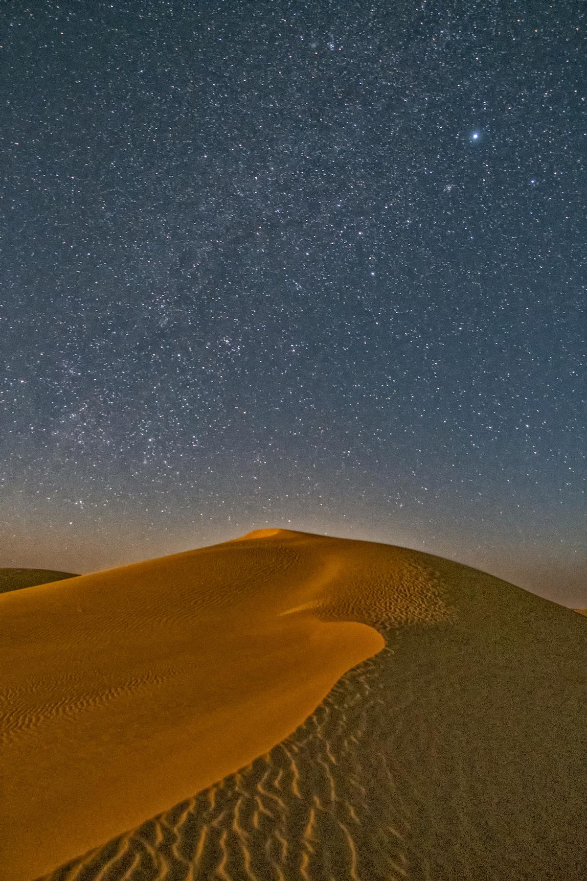 Dunes at Midnight