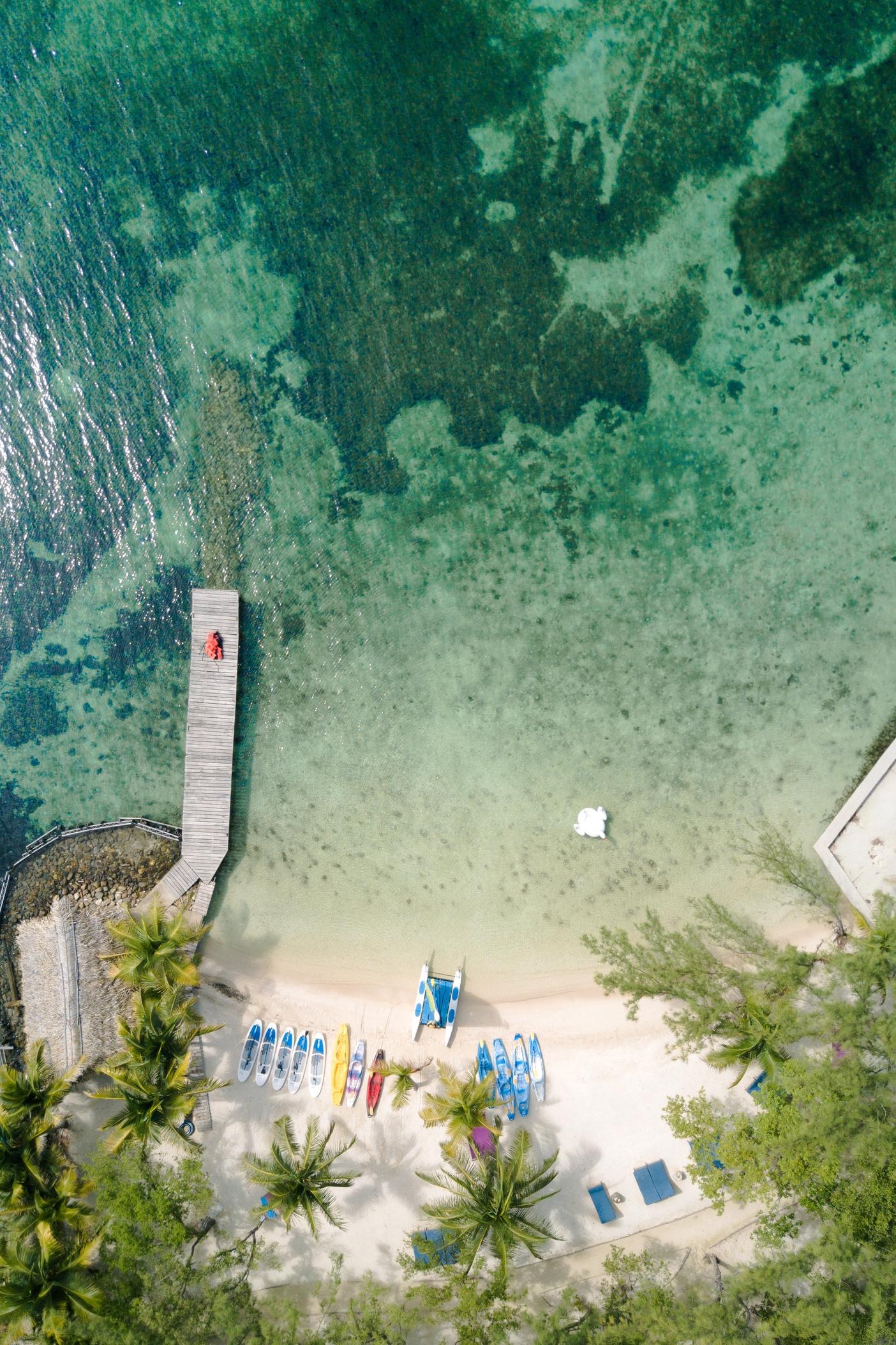 Thatch Caye Resort -