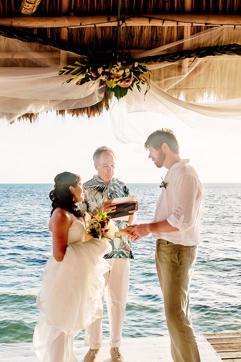 Thatch Caye Weddings -