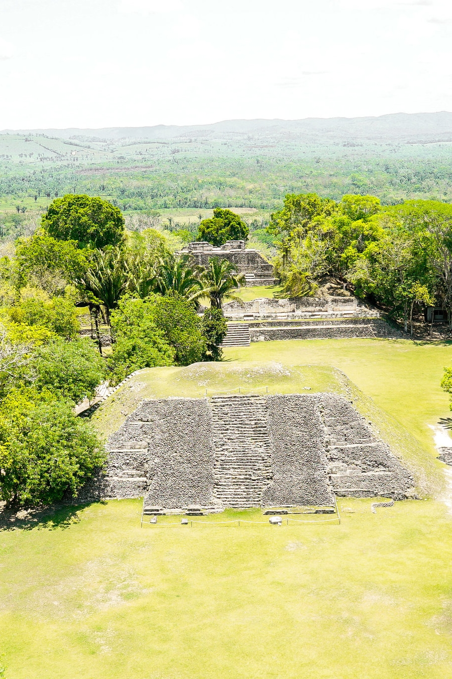 Cahal Pech & Xunantunich - Enjoy the views during the three-hour drive down the Hummingbird Highway. The reward for climbing to the top of El Castillo is a spectacular view of the Cayo District and Petén Guatemala.