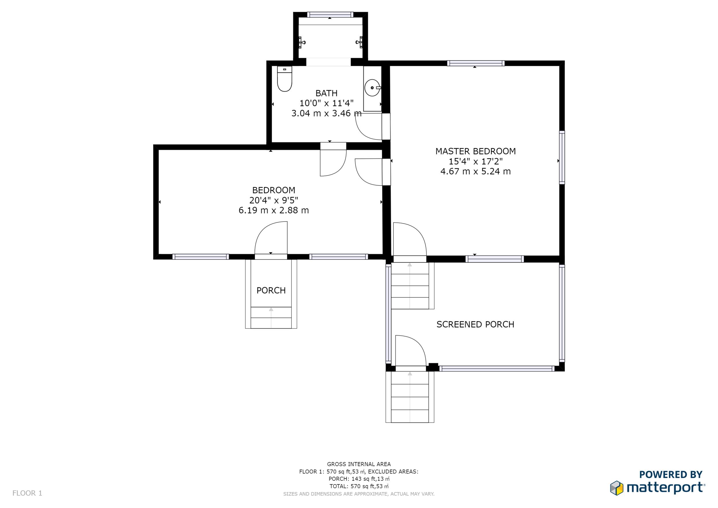Two bedroom casita -