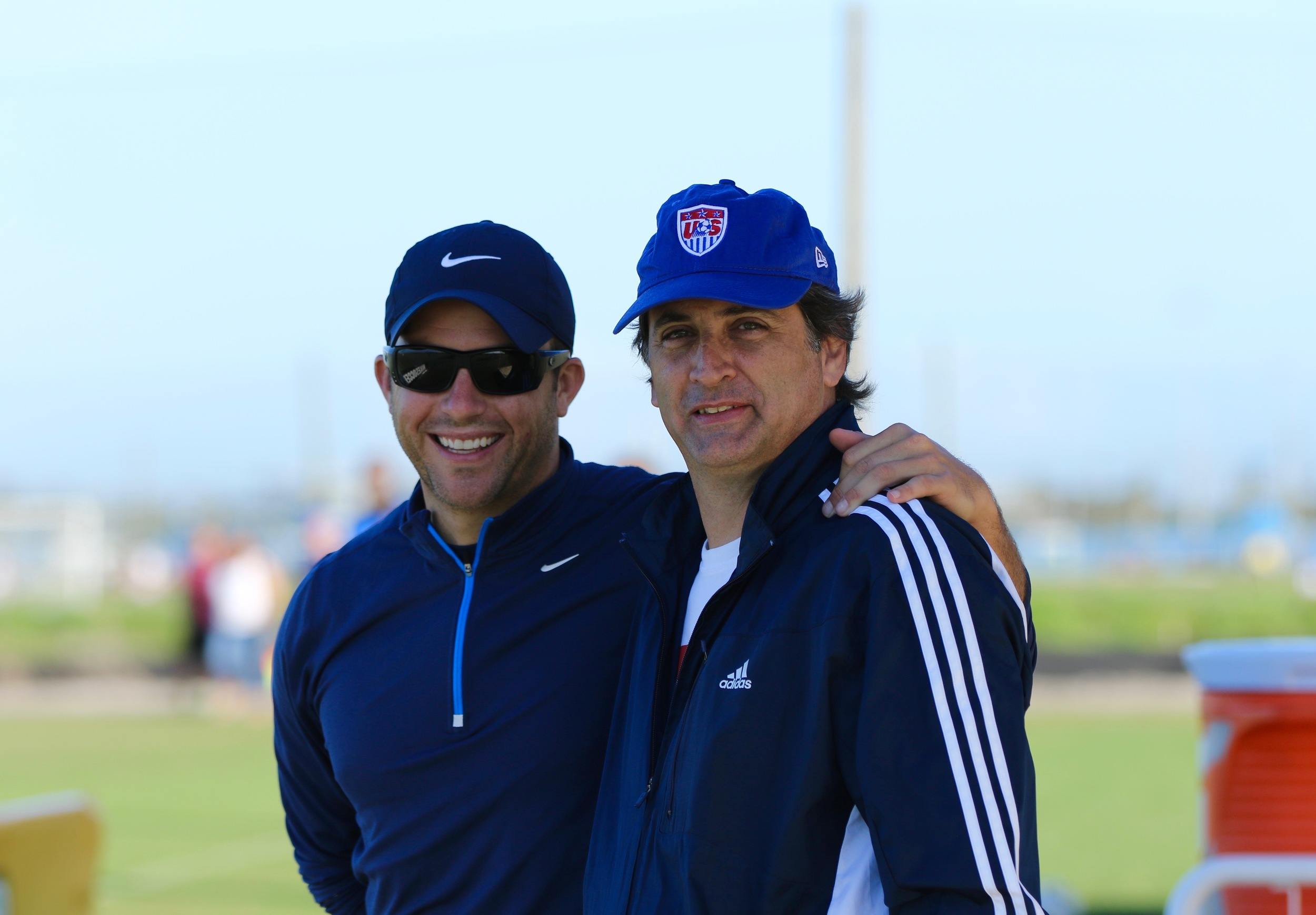 With friend Gordon Bengtson MLS | Assitant Director of Player Development | USA National Youth Team Scout