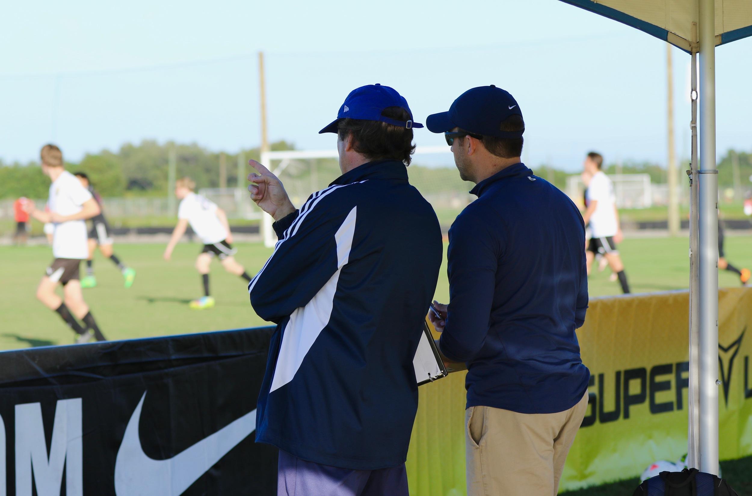 Scouting U16, U14, U13, U12 players at the Super Y league National Championship.