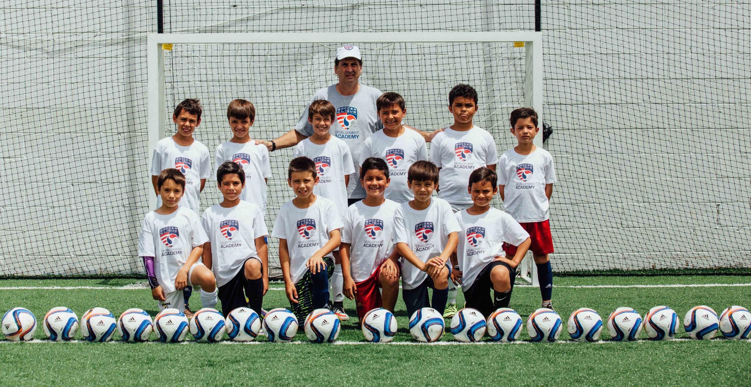 Soccer Clique | Academy | U10 Players