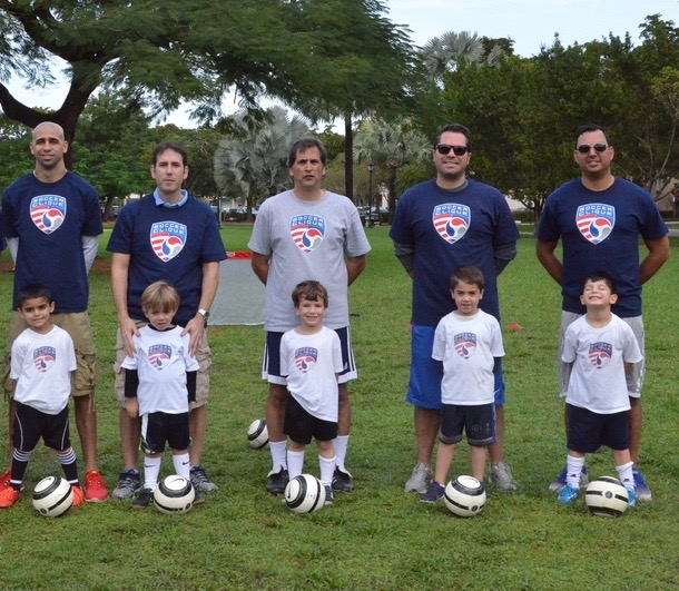 Coral Gables T4 Soccer Clique | Dads and Players