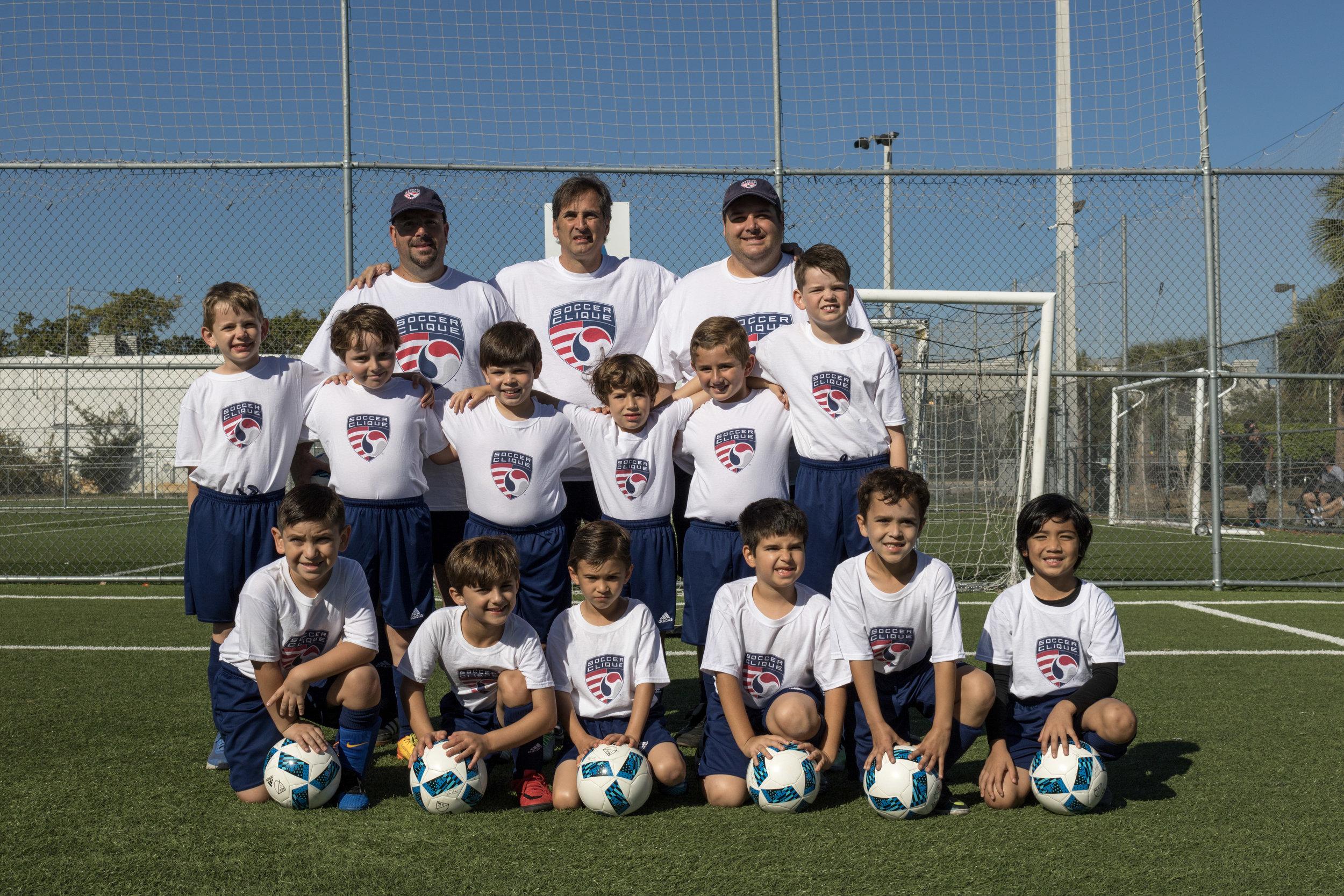 Soccer Clique vs Boca Jrs. Academy | Boys U8