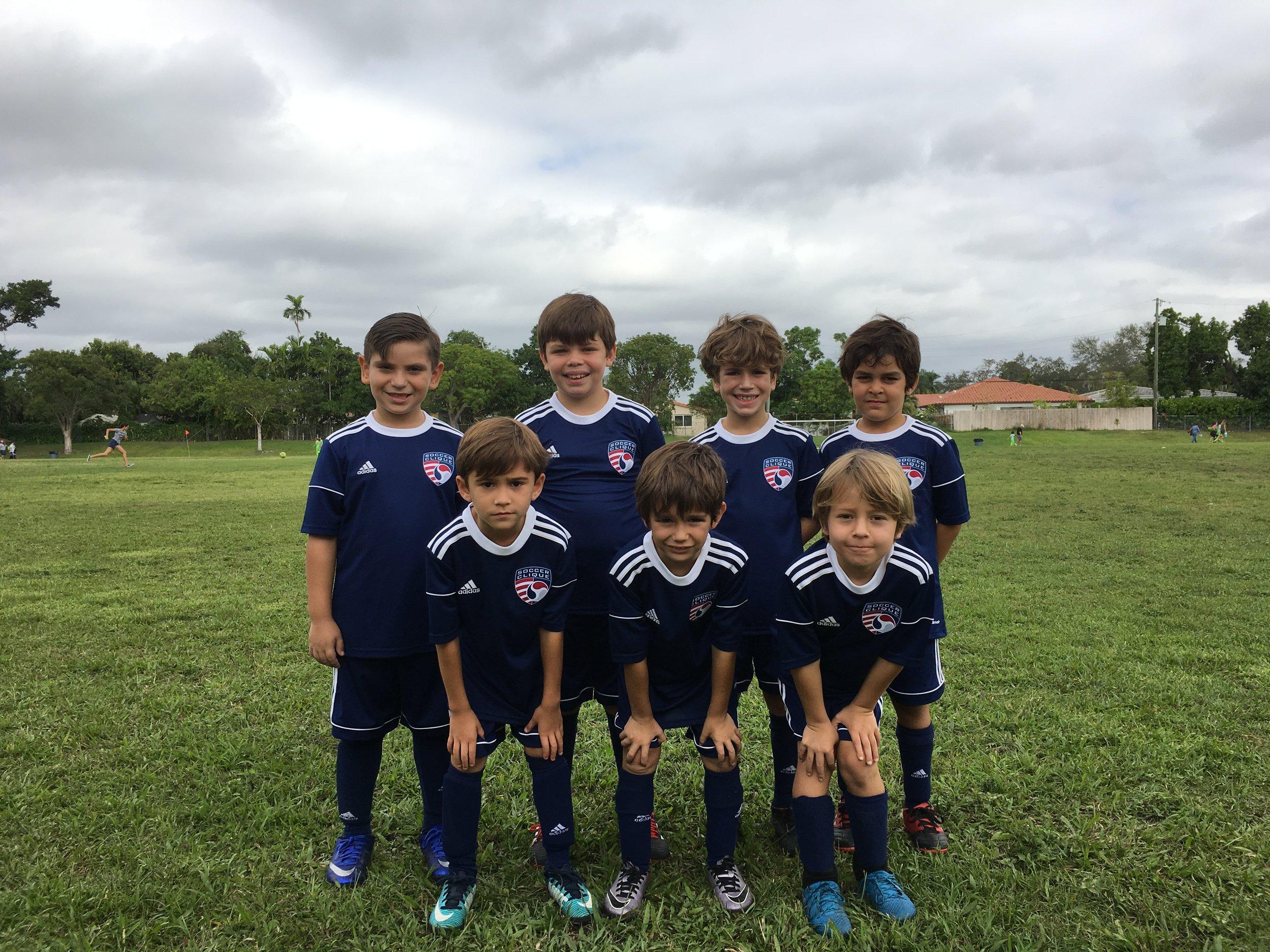 Soccer Clique | U8 Team | 4v4
