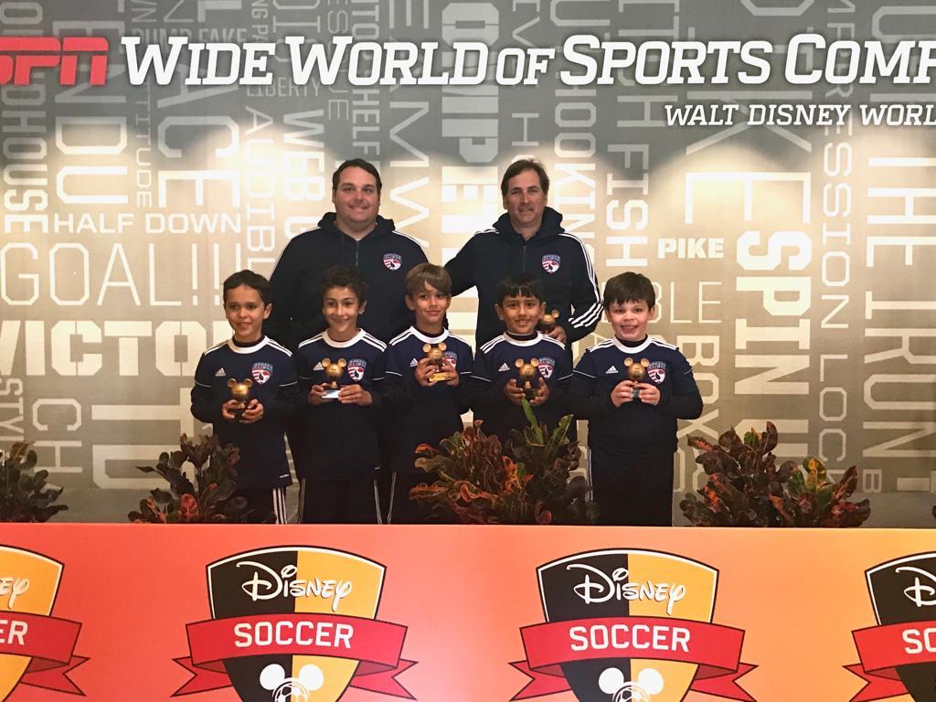 Soccer Clique U9 | Bronze Disney 3v3