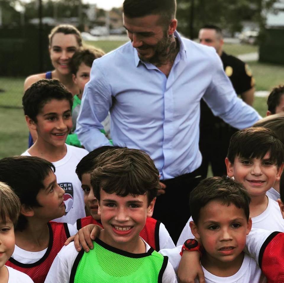 David Beckham | Visits Soccer Clique