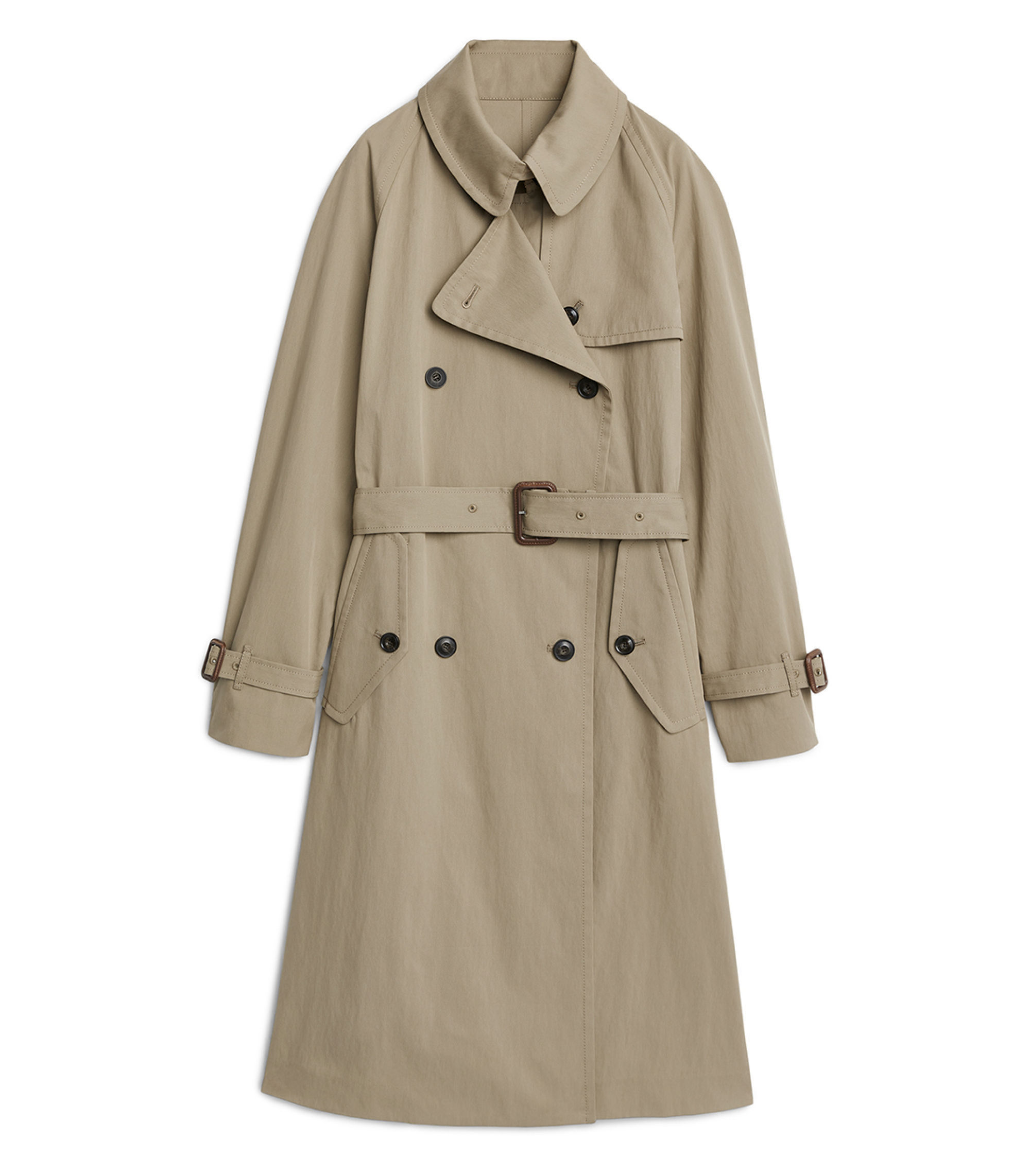 Twill Trench Coat  £225