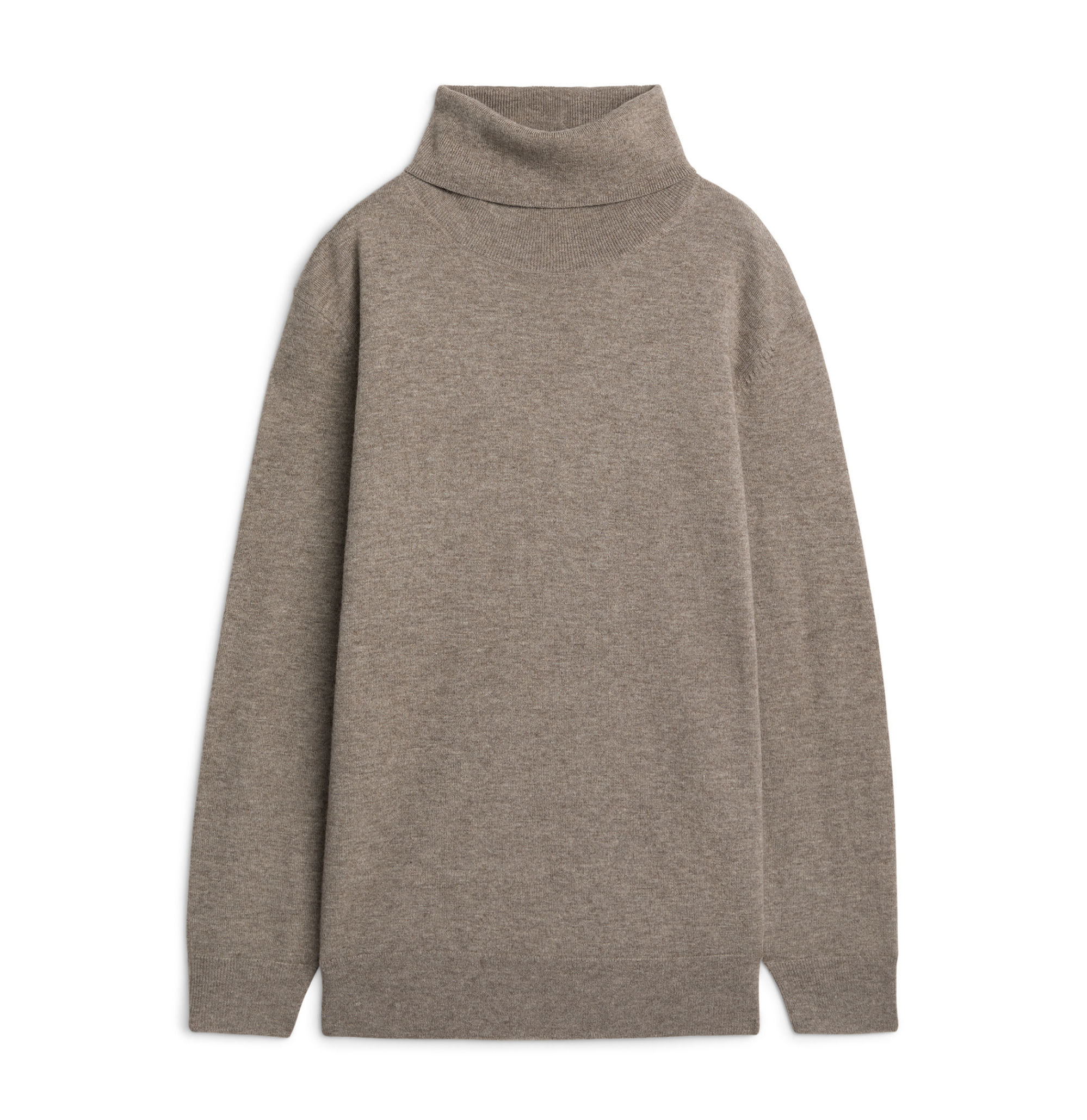 Wool and Yak Roll Neck Jumper  £69