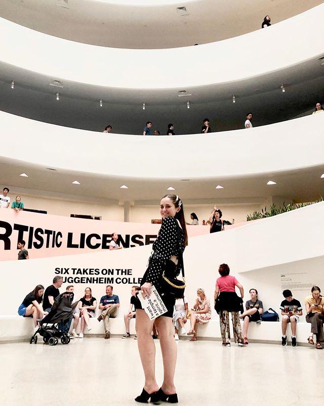 take me back ☁️✨ #Guggenheim #NewYork #ArtMuseum #NewYorkMuseums #PeggyGuggemheim #TODLoves #TODEatDrinkDo