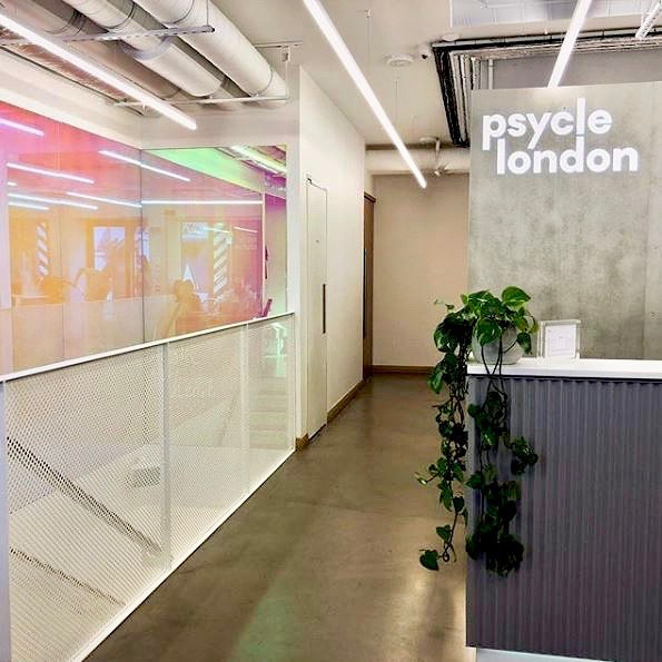 Great session at @psyclelondon last night 🚴🏼‍♀️ #ThisGirlCan #SpinClass #PsycleLondon