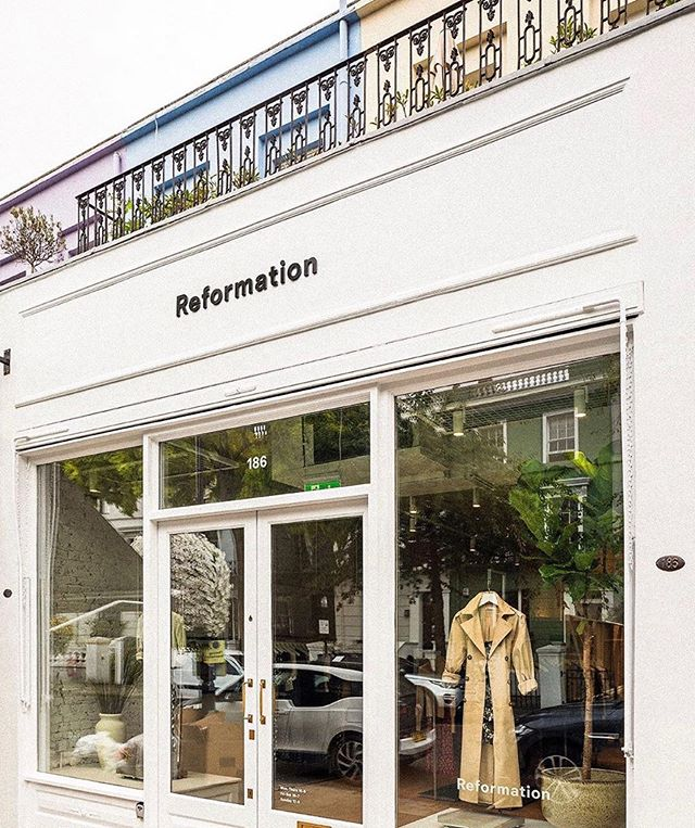 💥NEWSFLASH💥 @reformation has now landed in London on Westbourne Grove! ✨🌟⚡️#TODLoves #TheObsessionDiary #FashionBlog