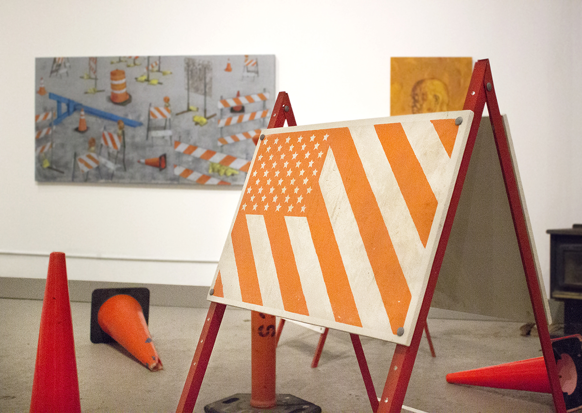 Situation Normal  , installation view