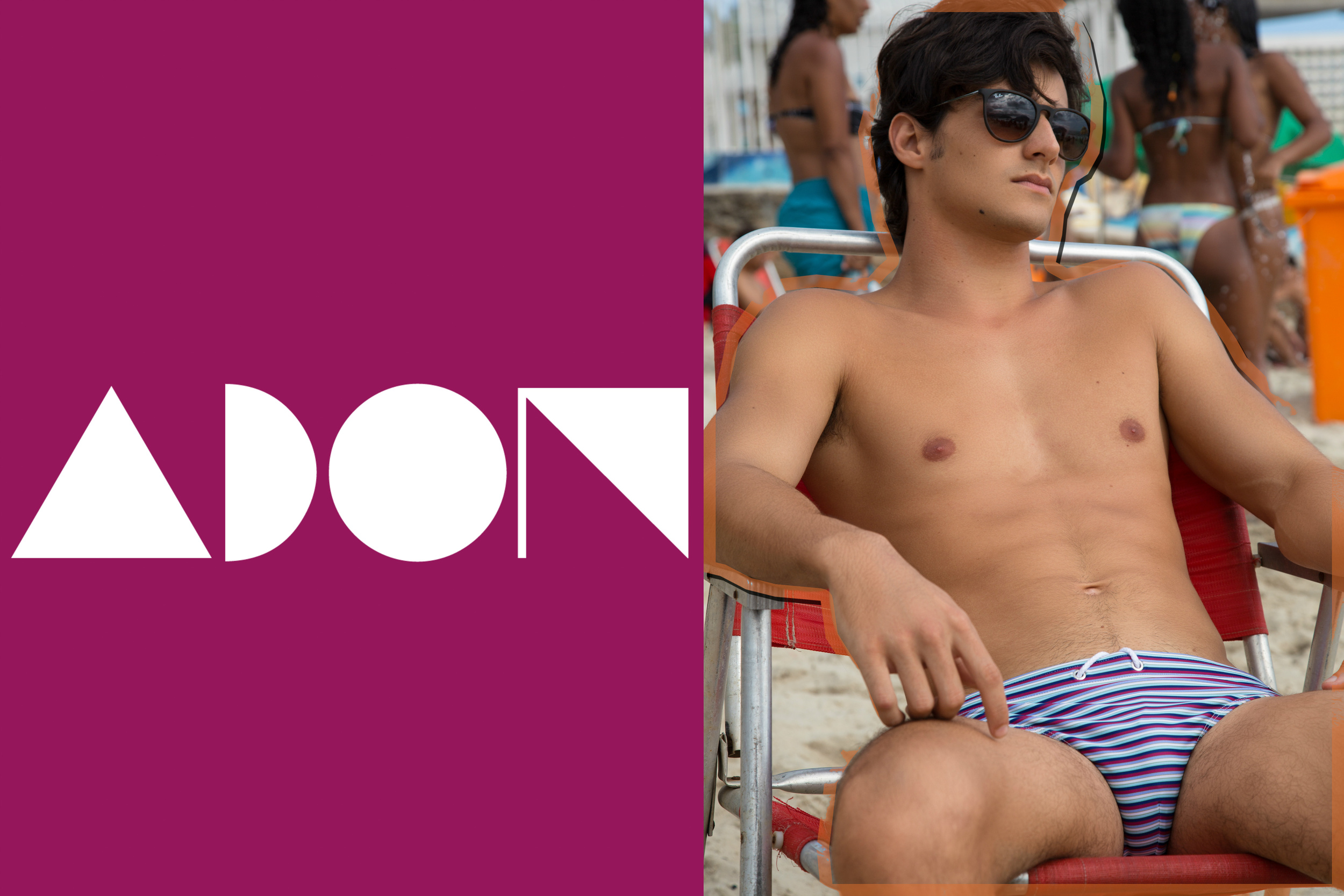 Swimsuit: Parke And Ronen Sunglasses: Ray-Ban