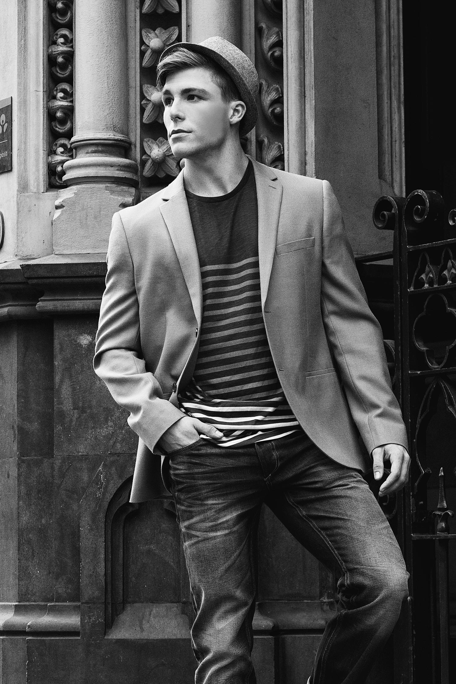 Adon Exclusive: Model James Thomas By Simon Le — Adon