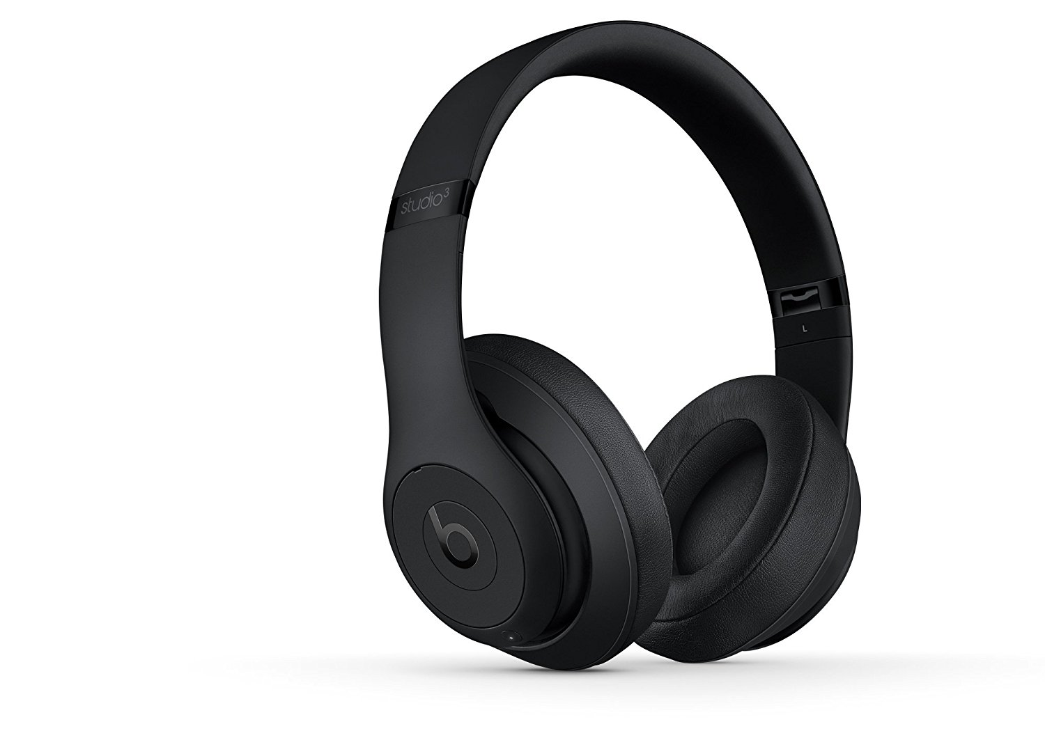 Beats Studio3 Wireless Headphones - Matte Black  Features the iconic Beats sound with Dual-Mode Adaptive Noise Canceling, plus the added benefit of wireless listening.Pair and Play with your Bluetooth device with 30ft range. 12-hour rechargeable battery Fuel Gauge. Soft ear cups have an ergonomic bellow that creates a flexible custom fit, so you can keep your music all to yourself. Headphones come with a RemoteTalk cable, a USB 2.0 charging cable, a hard shell carrying case, quick start guide, and warranty card. Refer to the PDF attached below in Technical Specification for User Manual $329.99